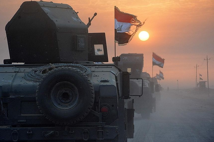Pro-government forces in Iraq preparing on Monday to retake the northern city of Mosul, the last Iraqi city held by ISIS.