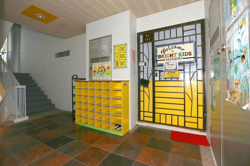 The childcare centre at Block 192, Punggol Central.