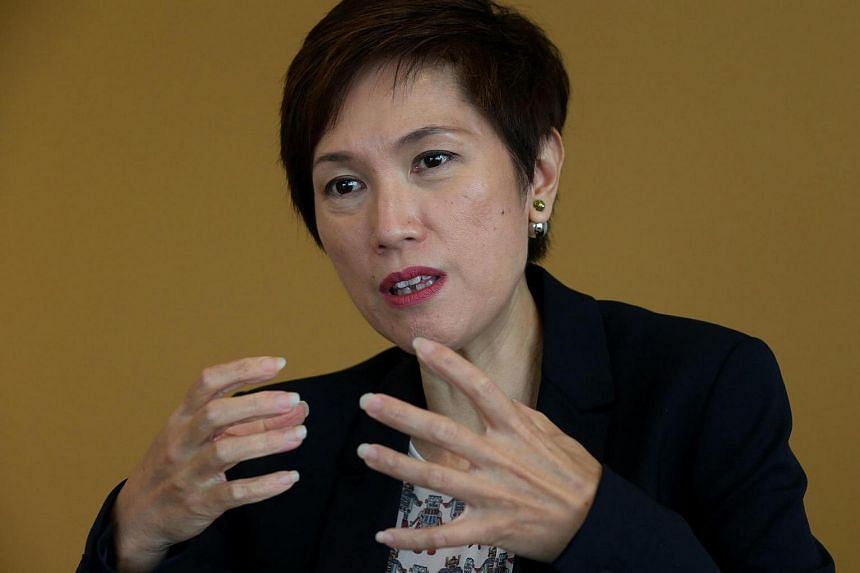 Senior Minister of State Josephine Teo.