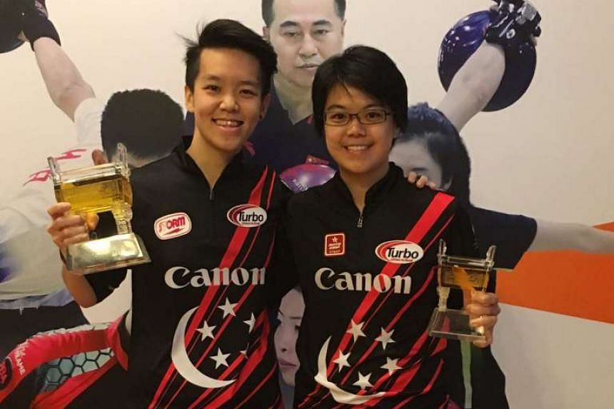 Shayna Ng beat team-mate Cherie Tan to win the women's Open at the China Open in Shanghai, winning her first title of the year.
