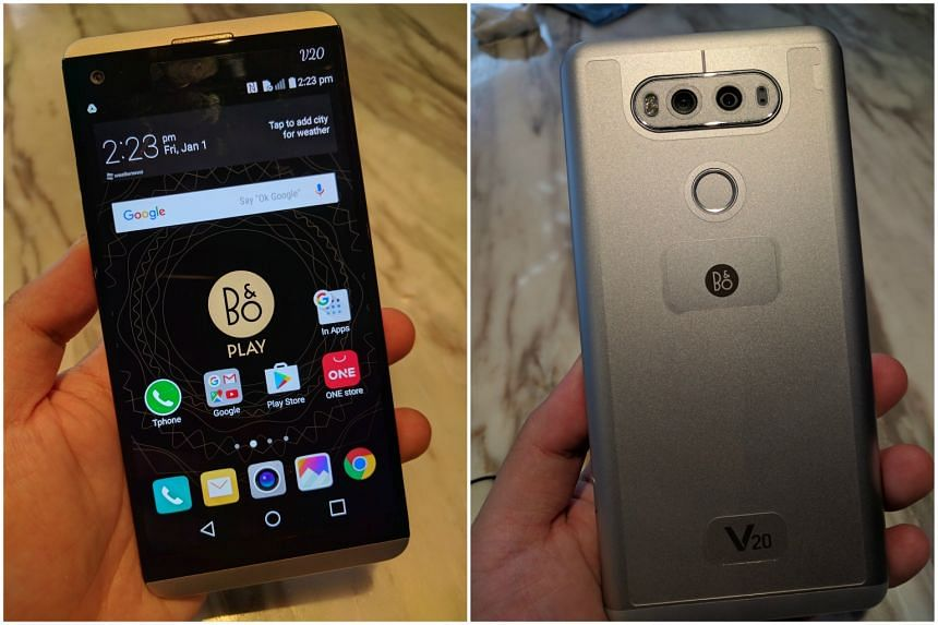 The LG V20, which boasts a dual-camera set-up and hi-fi audio recording that captures audio better during video recording, will be available in Singapore on Nov 5.