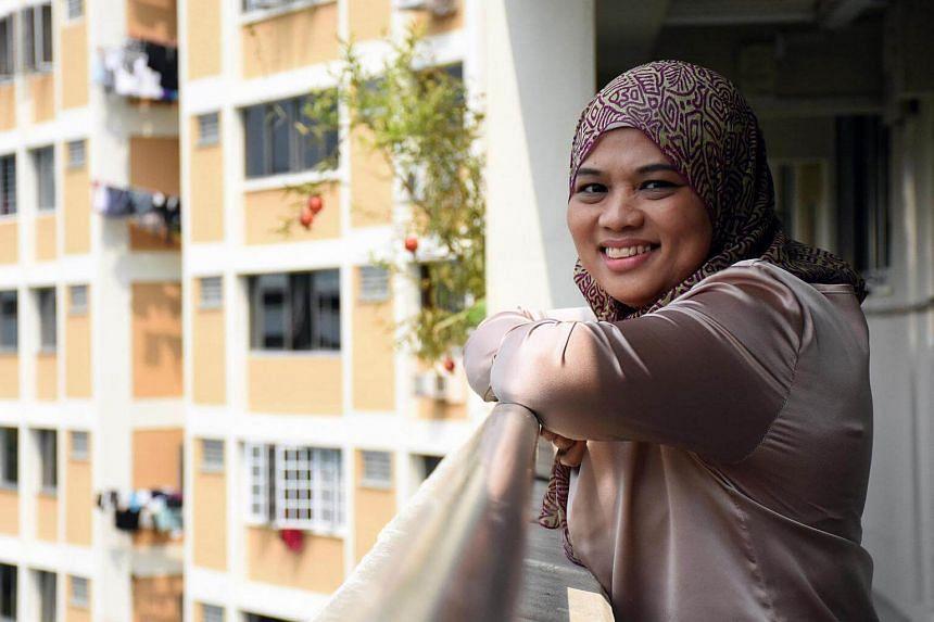 Ms Noorliza Binte Ismail, 43, a cervical cancer survivor.