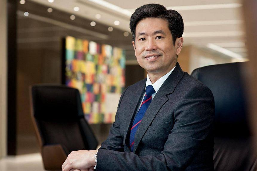 Mr Philip Yuen, CEO of Deloitte Southeast Asia and Deloitte Singapore.