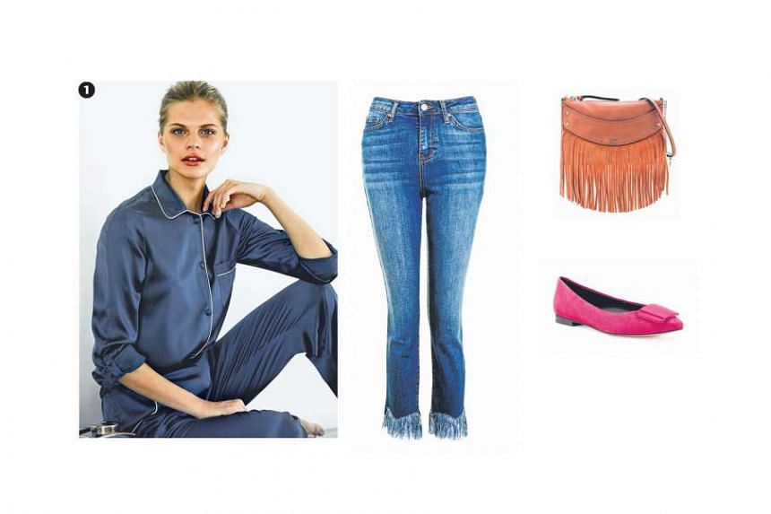 1. FOR CASUAL WEEKENDS