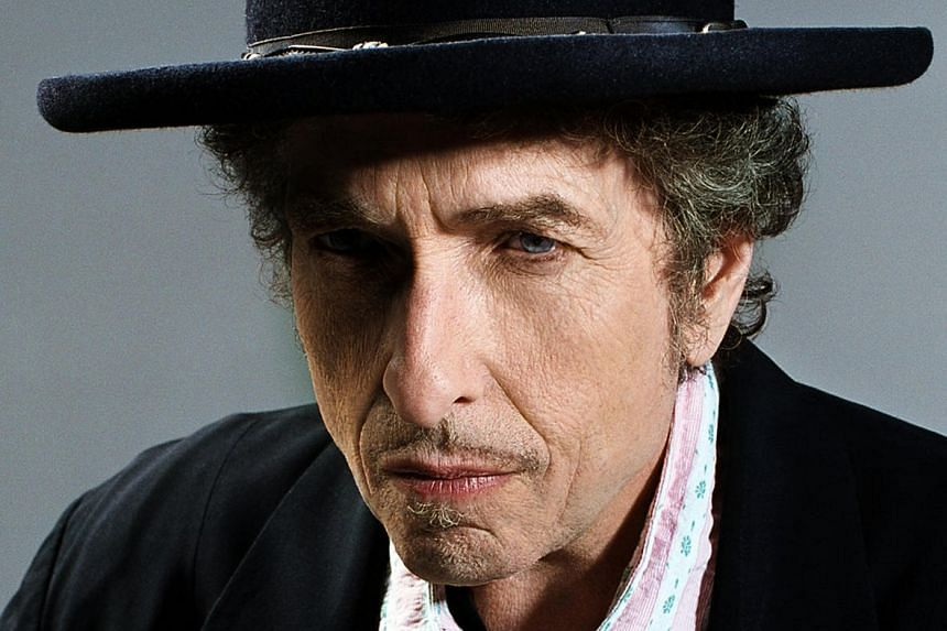 """American singer-songwriter Bob Dylan won the Nobel Prize in Literature """"for having created new poetic expressions within the great American song tradition""""."""