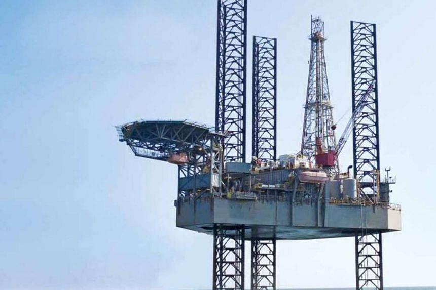 Swissco Holdings' offshore oil rig.