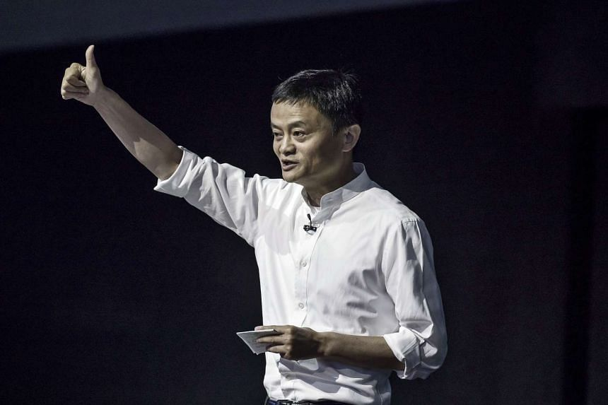 Billionaire Jack Ma speaks during the Alibaba Cloud Computing Conference in Hangzhou on Oct 13, 2016.