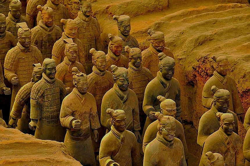 The famed Terracotta Army could have been inspired by ancient Greek sculptures and art, says Dr Li Xiuzhen, a senior archeologist at the Emperor Qin Shi Huang's Mausoleum Site Museum.