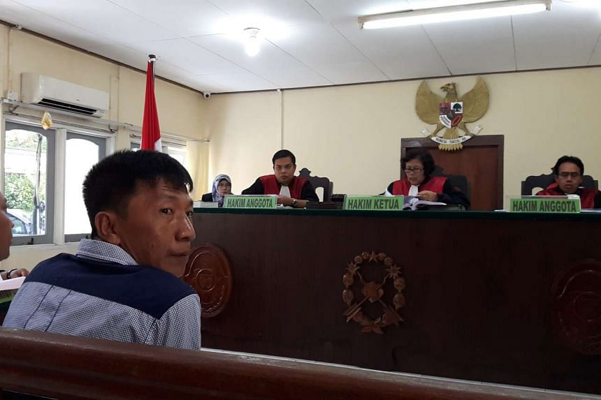 Singaporean boat captain Shoo Chiau Huat has been held by Indonesian immigration authorities since April 16, for trespassing Indonesian waters.