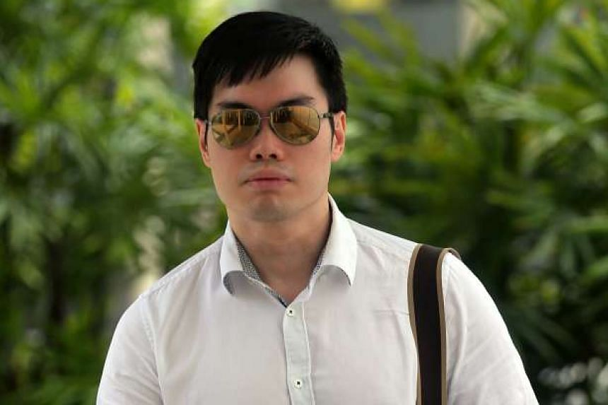 Mark Tan Peng Liat, 30, said the headlock and chokehold he placed on his father was neither dangerous nor likely to result in death.