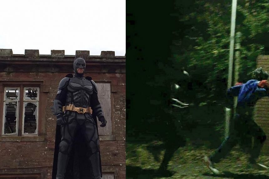 In Cumbria, a man has seemingly taken justice enforcement into his own hands - by dressing as Batman and vowing to clamp down on the clowns.