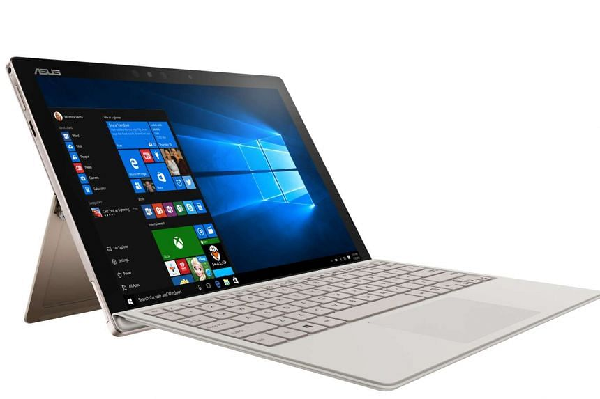 The Asus Transformer 3 Pro is a 2-in-1 hybrid with a detachable keyboard cover and an integrated kickstand that lets you adjust the screen's viewing angle.