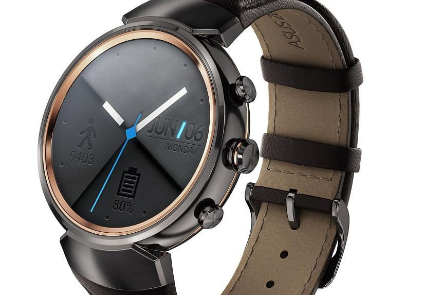 The ZenWatch 3 is the first Asus smartwatch to have a round watch face.
