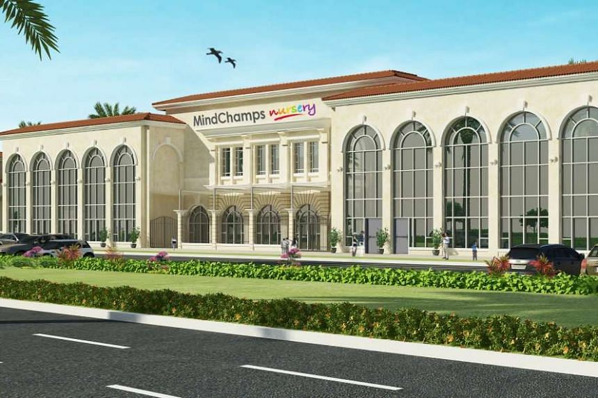 An artist's impression of the MindChamps Nursery in Abu Dhabi.
