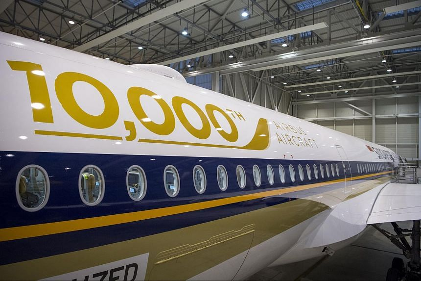 Singapore Airlines is taking delivery of its sixth A350-900 on Oct 14, 2016 from the Airbus headquarters in Toulouse, France.