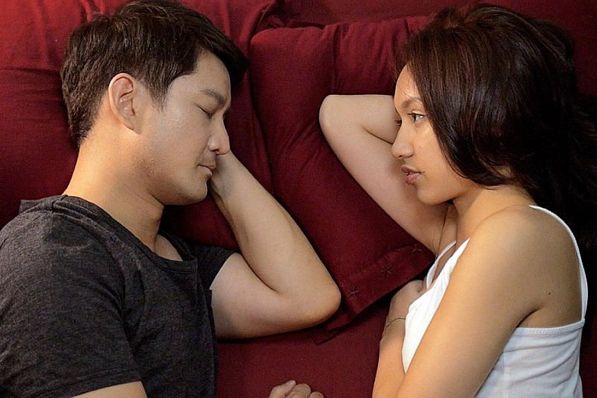 Jason Chan with Khaleila Hisham in Perfect Girl, the 10-part Web series that he made for just $1,000.