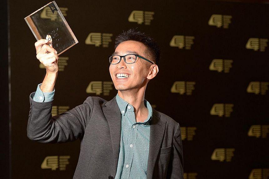 Writer O Thiam Chin won the inaugural $20,000 Epigram Books Fiction Prize last year.