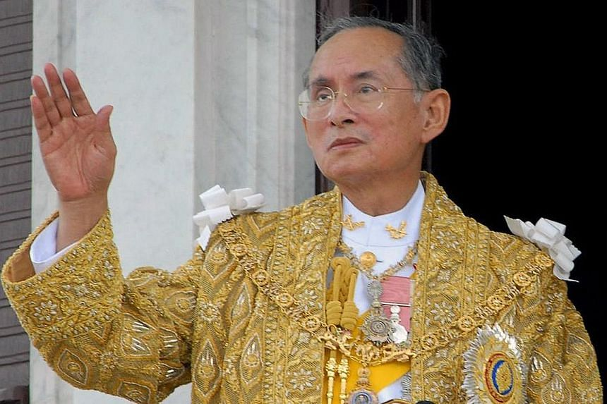 The popularity of King Bhumibol, seen in a 2006 photo, came from his travels throughout the country, especially in his younger days as King, speaking to people from all walks of life and starting projects to help the poor and marginalised.