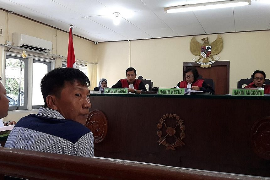 """Mr Shoo during his court appearance last Tuesday when he made a plea for his freedom, saying: """"I feel that I have spent enough time in lock-up and I have done my punishment."""""""
