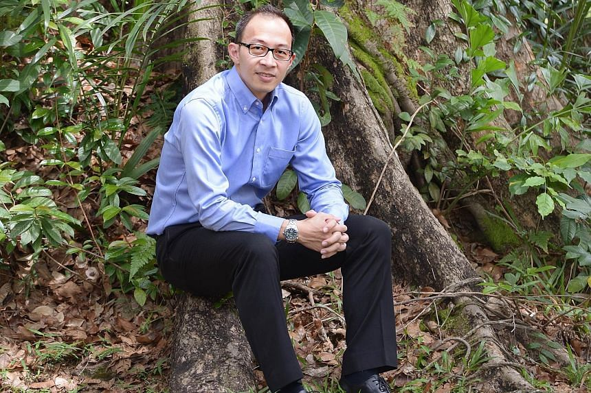 Mr Edwin Seah was told of his suspension while he was on leave yesterday. The news came as a shock to the NGO's executive director as he was supposed to fly to Ukraine tonight on official business.