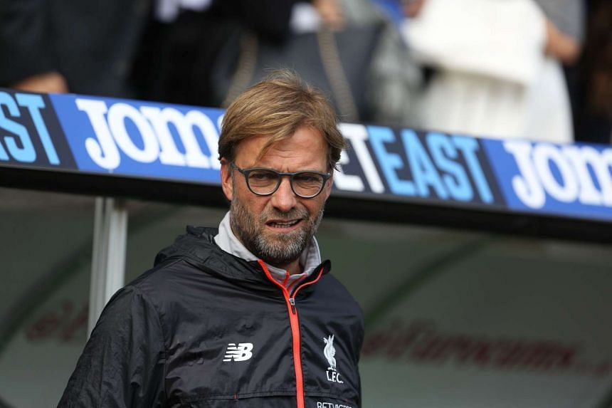 Klopp (above) is unhappy that Liverpool will be forced to play twice in the space of 48 hours.