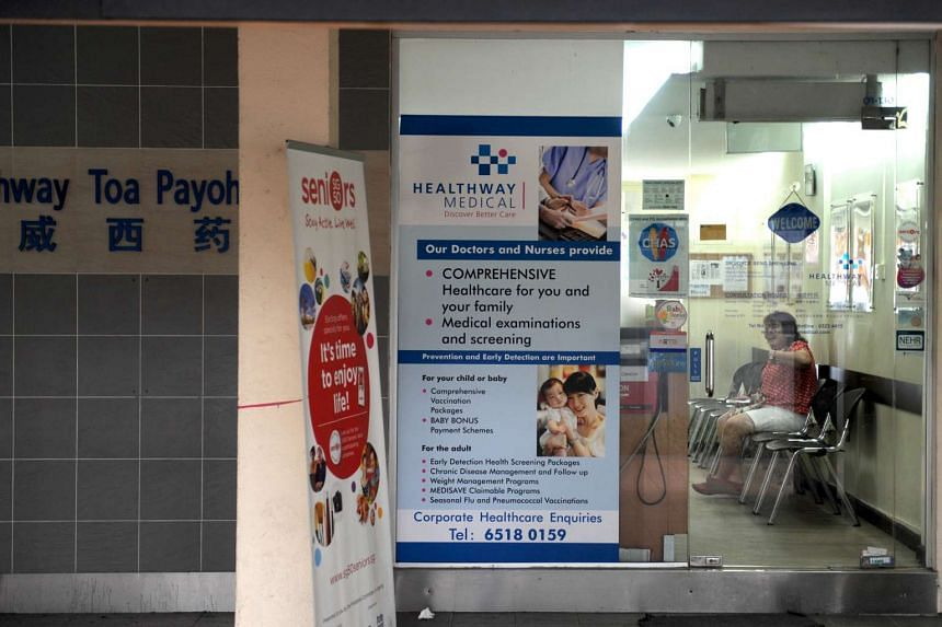 Healthway Medical clinic at Blk 177 Toa Payoh Central.