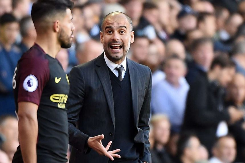 City manager Guardiola said repeatedly that he expected more from Aguero, even as the striker made such an impressive start to the campaign.