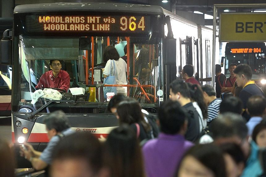 Six in 10 of the 296 existing bus services have had their capacity increased under the programme, said the LTA. This means there are either more buses or more double-decker buses on those routes.