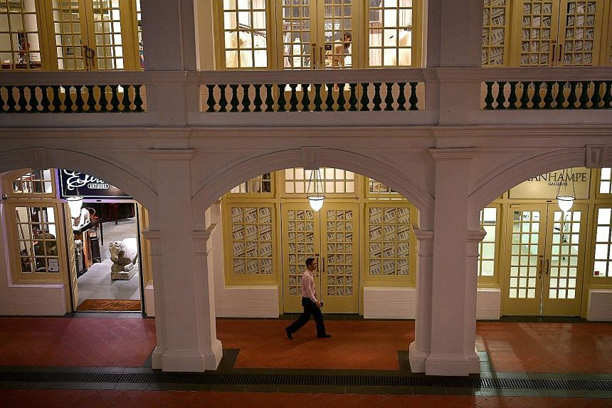 Raffles Hotel announced the restoration works on Tuesday. The revamp will be done in three phases, starting in January with the Arcade, a public area that houses 40 shops, function areas, restaurants and bars.