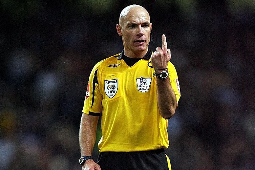 Howard Webb, a former Premier League referee and technical director of football's officials, was once told by the Premier League to keep quiet after he publicly backed referees.