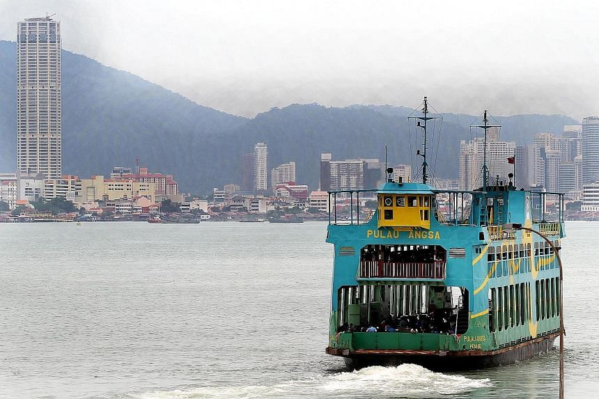 Penang's ferry service has been losing $6.6 million a year with the number of passengers - largely tourists and those bitten by nostalgia - plunging to a million, less than a tenth of what it used to be.