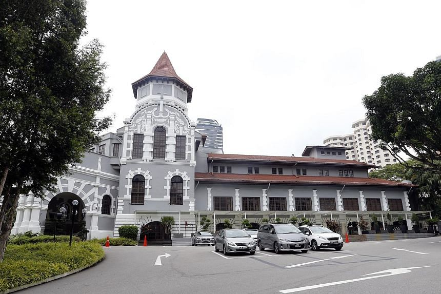 Hotel Holdings, owned by the Khoo family, said the buyout offer is aimed at consolidating the holdings of Goodwood Park Hotel - comprising the Goodwood Park Hotel (above), York Hotel and Royal Garden Hotel - under a single holding company.