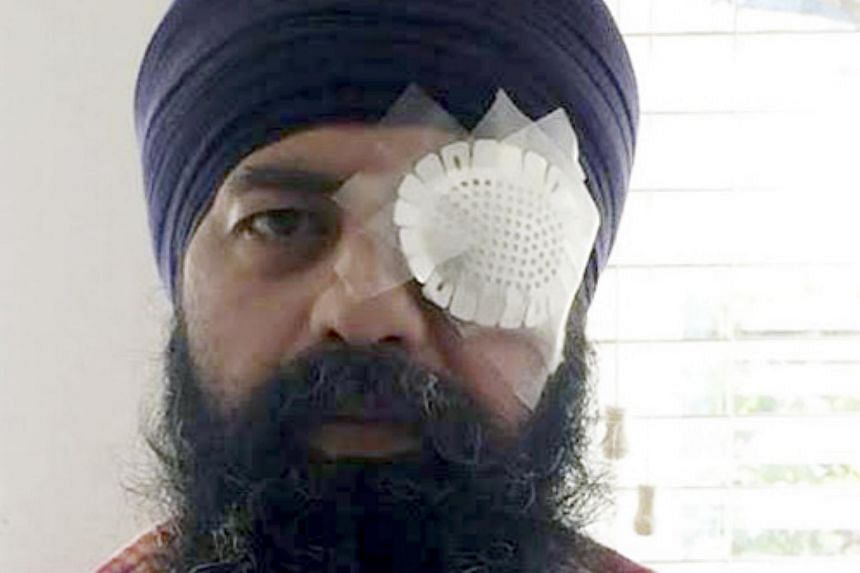 Maan Khalsa, a Sikh who was attacked in what prosecutors said was a hate crime.