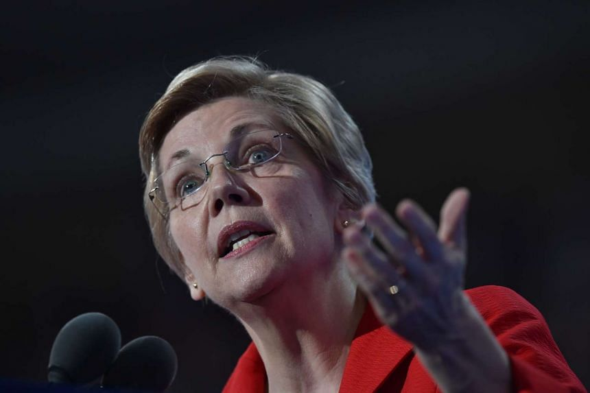 "Democratic Senator Elizabeth Warren (above) calls White the ""biggest barrier"" to establishing rules that require companies to disclose political contributions."
