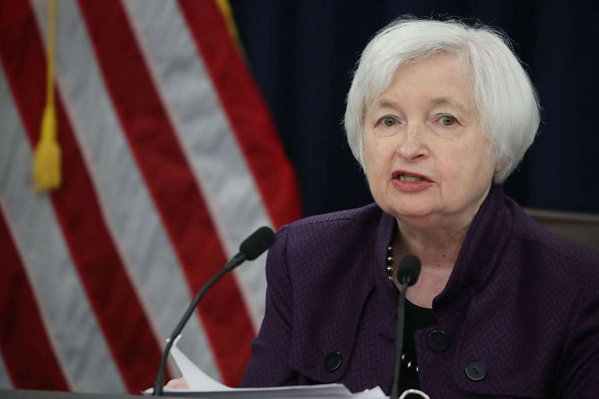 Yellen's (above) address laid out the deepening concern at the Fed that US economic potential is slipping.