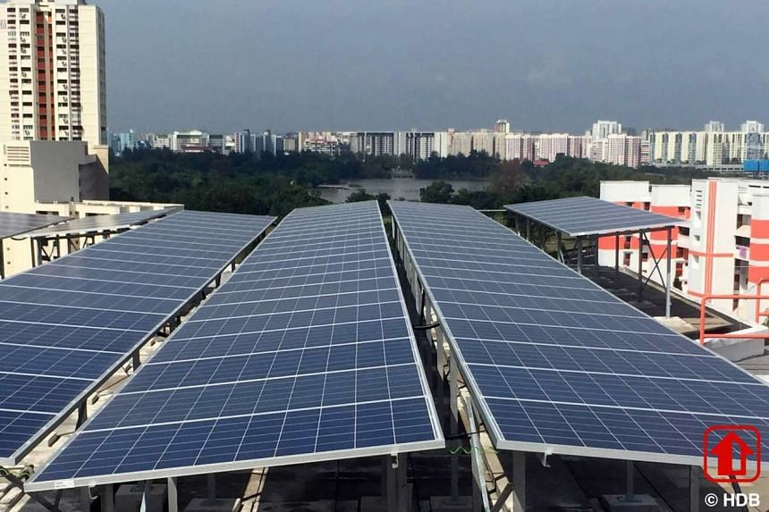 HDB has called for a tender for solar panels to be installed at 636 HDB blocks and 31 government sites island-wide.