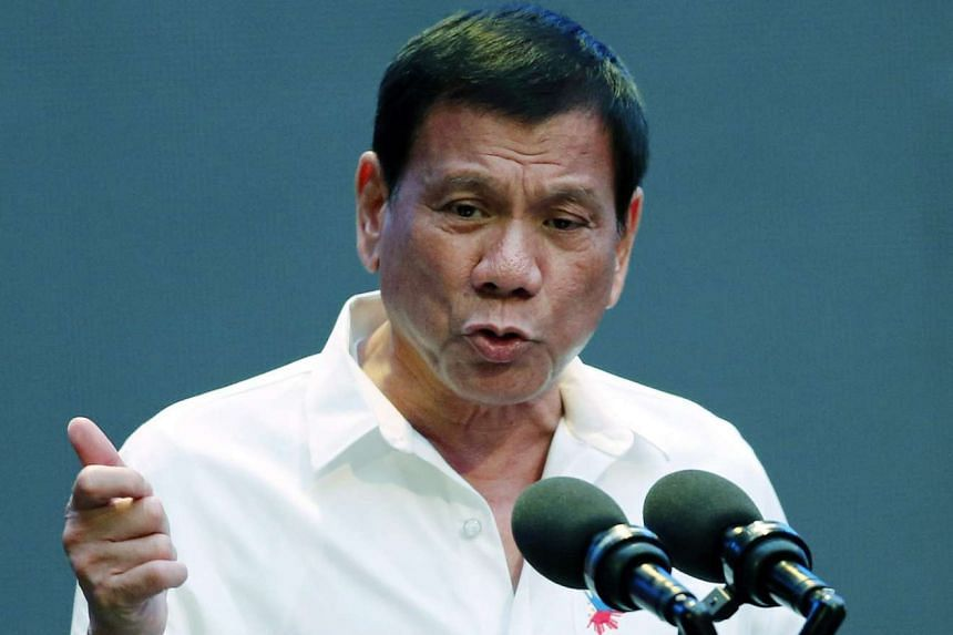 Philippine President Rodrigo Duterte has said that he would raise the arbitral ruling on the South China Sea with China's leaders.