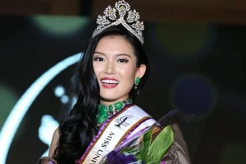 Cheryl Chou, a student at Lasalle College of the Arts, has been crowned Miss Singapore 2016.