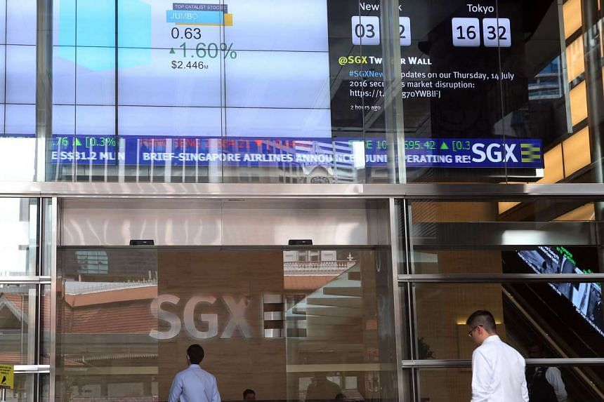 Local stocks advanced in thin trading yesterday, leaving the Straits Times Index up 0.43 per cent or 12.54 points to 2,898.30.