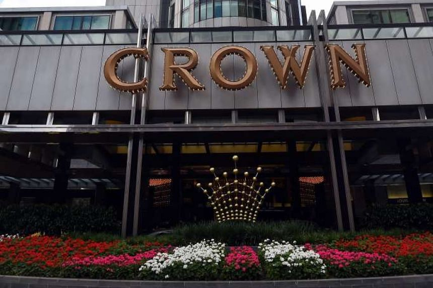 A general view of the Crown casino in Melbourne.