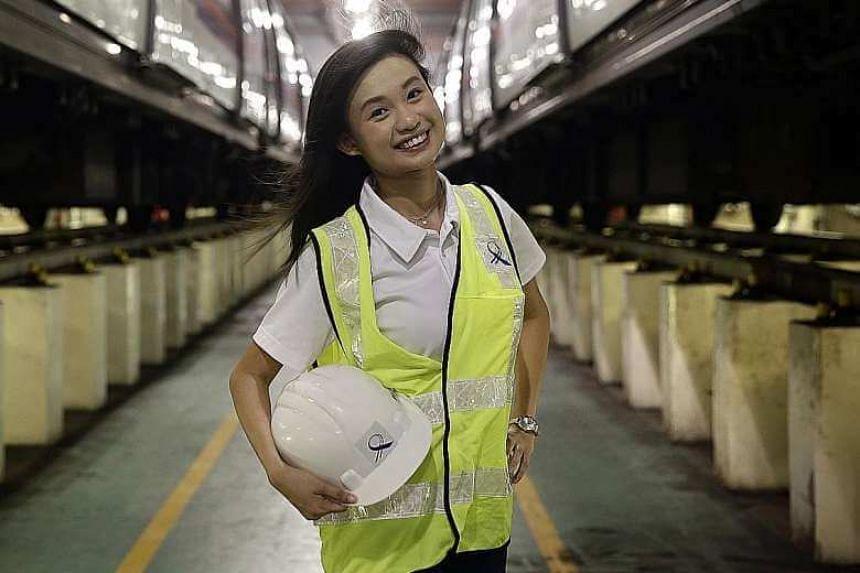 LTA deputy project manager Chan Jie Yee, 26.