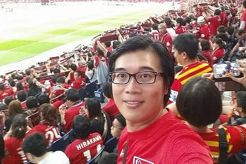 Mr Tan is passionate about football. He hopes that Singapore will have a vibrant sports culture and that citizens will proudly support the nation at all sports events.