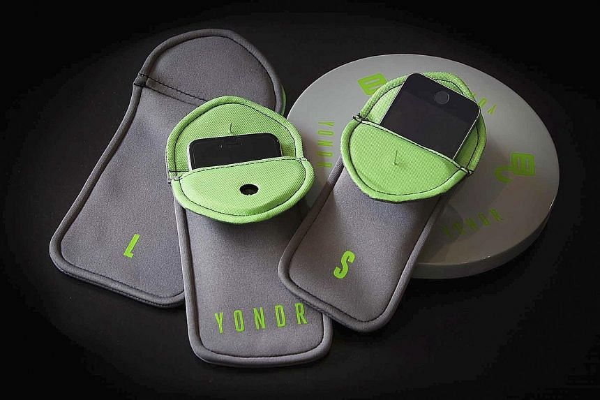 Yondr's form-fitting pouch can be locked during performances.