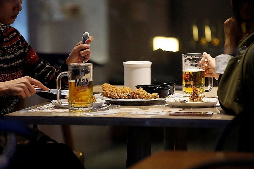 """With South Korea lifting a ban on overseas poultry suppliers, imports are set to rise, given the popularity of """"chimaek"""" - fried chicken and beer - in the country."""