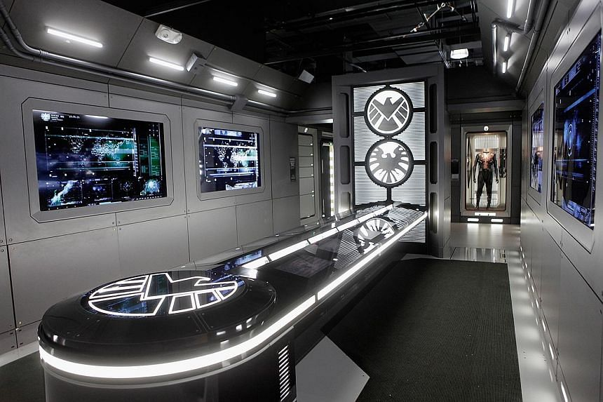 Marvel's Avengers S.T.A.T.I.O.N is an interactive exhibition that displays comic superhero characters as well as videos, images and written material from Nasa. VHE will unveil The Avengers in Singapore later this month, with the exhibition taking up