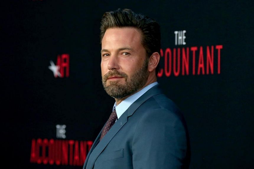 Ben Affleck attends the premiere of his film The Accountant at TCL Chinese Theatre in Hollywood, California.