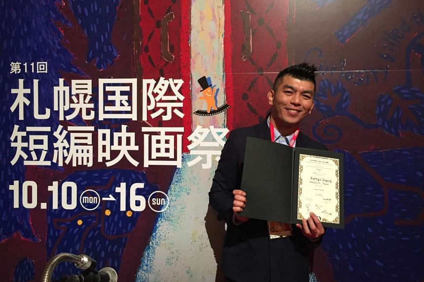 Royston Tan won Best Asian Short Film at the Sapporo International Short Film Festival for Bunga Sayang, part of the award-winning anthology 7 Letters.