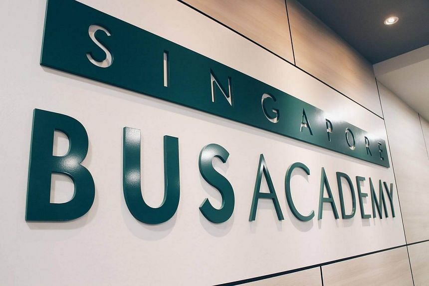 The new Singapore Bus Academy is located at the Devan Nair Institute for Employment and Employability in Jurong East.