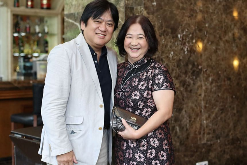 Japanese businessman Seiichiro Isoda and Ms Yvonne Chua met on Oct 16, 2016 after 40 years.