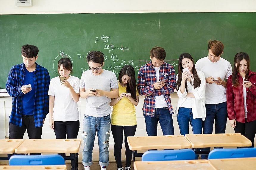 Young people who spend a lot of time on their devices may not develop empathy or the skills to notice non-verbal cues in a conversation.